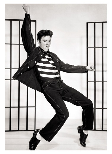 MarkaEv Canvas Elvis Presley Tablo 0133 Renkli